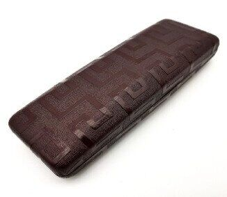 Твердый коричневый футляр для очков Cintura 00451 - изображение 1