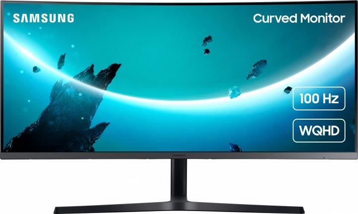 "Mонитор 34"" Samsung Curved C34H890 (LC34H890WGIXCI) - изображение 1"
