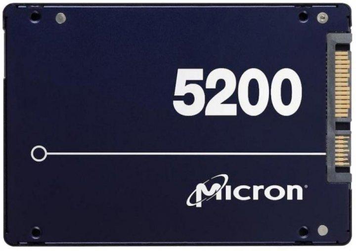 "Micron 5200 Max 480GB 2.5"" SATAIII 3D NAND TLC (MTFDDAK480TDN-1AT1ZABYY) - зображення 1"