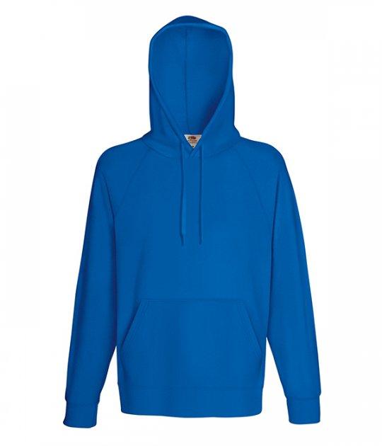 Толстовка Fruit of the Loom Lightweight hooded sweat XXL Яскраво-синій (0621400512XL) - зображення 1