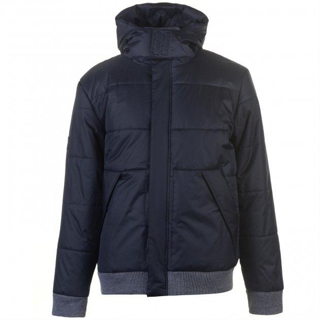 Куртка Lee Cooper Rib Padded Jacket Mens XXL синяя (60086022510) - изображение 1