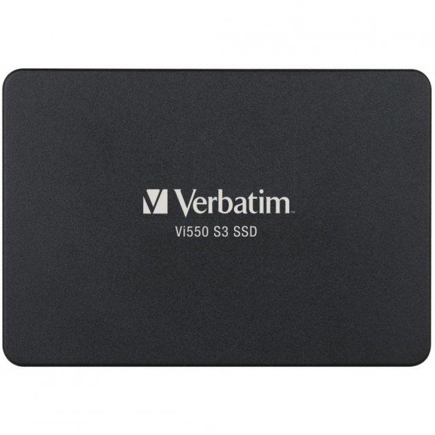 """Накопичувач SSD 2.5"""" 128GB Verbatim (49350) - зображення 1"""