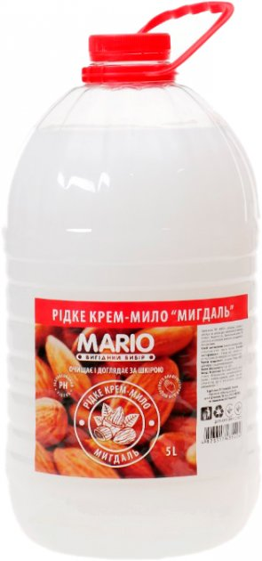 Крем-мыло Mario Маротех Миндаль 5 л (4823317435404) - изображение 1