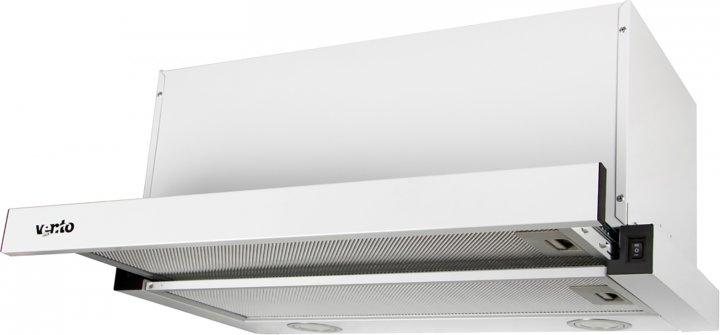 Витяжка VENTOLUX GARDA 60 WH (1000) LED - зображення 1