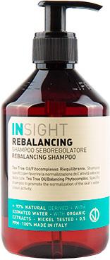 Шампунь Insight Ребалансинг для жирной кожи головы 400 мл (8029352353802) - изображение 1