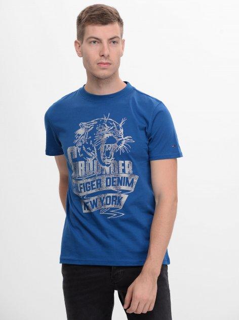 Футболка Tommy Hilfiger 9133.1 L (48) Синяя - изображение 1