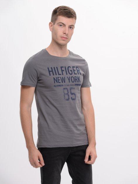 Футболка Tommy Hilfiger 9166.1 S (44) Серая - изображение 1