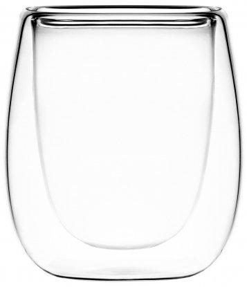 Набор чашек Ardesto для эспрессо с двойными стенками 80 мл 2 шт (AR2608G) - изображение 1