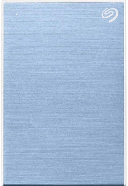 Жесткий диск Seagate One Touch 4TB STKC4000402 2.5 USB 3.2 External Light Blue - изображение 1
