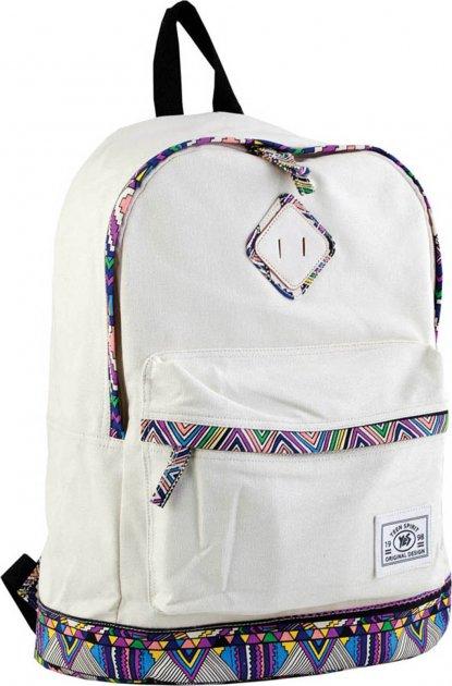 Рюкзак подростковый Yes ST-33 Ethiopia beige 40.5 x 27.5 x 16 см - изображение 1