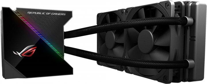 Система рідинного охолодження ASUS ROG Ryujin Aura OLED 240 (ROG-RYUJIN-240) - зображення 1