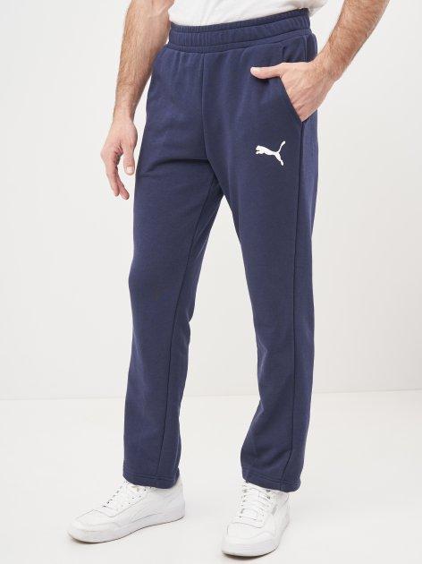 Спортивные штаны Puma Ess Logo Pants 58672076 S Peacoat-Cat (4063697287280) - изображение 1