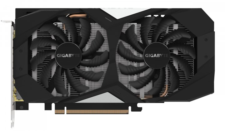 Gigabyte PCI-Ex GeForce GTX 1660 Ti OC 6GB GDDR6 (192bit) (1800/12000) (1 x HDMI, 3 x Display Port) (GV-N166TOC-6GD) - зображення 1