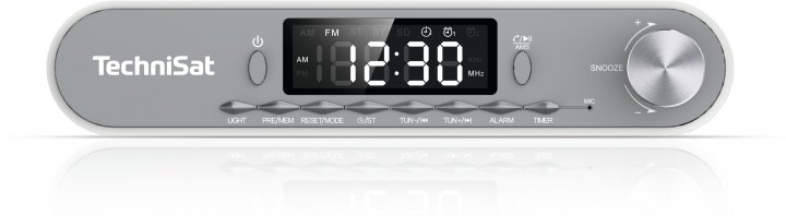 Вбудований радіо TechniSat KitchenRadio біло-сіре (76-4978-00) - зображення 1