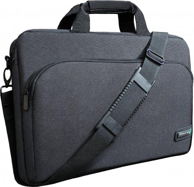 """Сумка для ноутбука Grand-X 14"""" Black (SB-128) - зображення 1"""