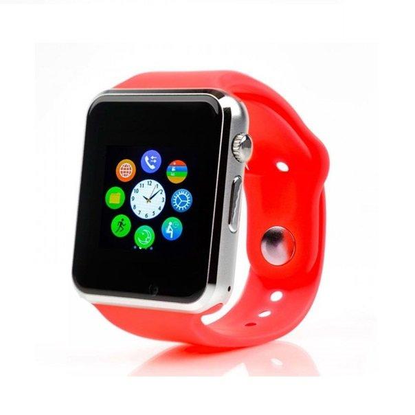 Смарт годинник A1 + камера, red - зображення 1