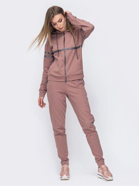 Спортивный костюм Dressa 45784 50 Розовый (2000005531491) - изображение 1