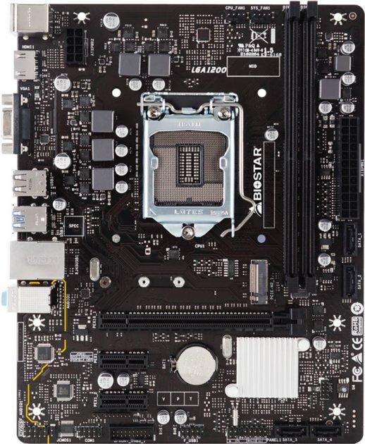Материнская плата Biostar H410MH (s1200, Intel H410, PCI-Ex16) - изображение 1
