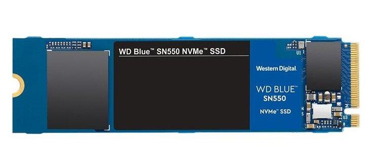 Твердотільний накопичувач SSD WD M. 2 NVMe PCIe 3.0 4x 500GB SN550 Blue 2280 - зображення 1