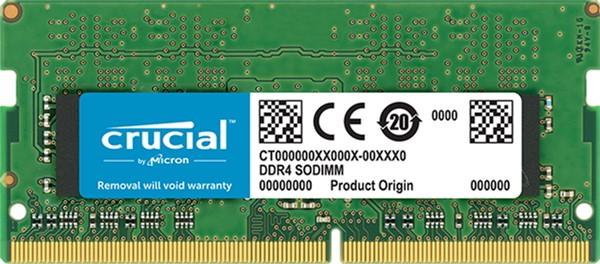 Оперативная память Crucial SODIMM DDR4-2666 4096MB PC4-21300 (CT4G4SFS8266) - изображение 1