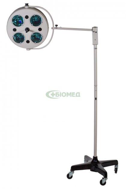 Хирургический светильник Биомед L734-II четырехрефлекторный передвижной (2417) - изображение 1