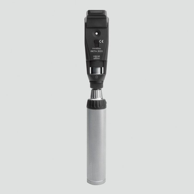 Ретиноскоп Heine Вета 200 рукоятка с акумулятором Beta 4 NT зарядное устройство NT4 - изображение 1