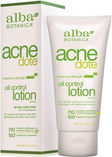 Ежедневный лосьон-регулятор жирности кожи Alba Botanica Acne Dote 57 г (724742007621) - изображение 1