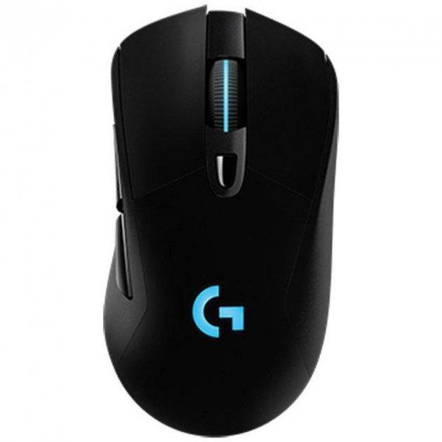 Мышь беспроводная Logitech Hero G703 Lightspeed (910-005641) Black USB - изображение 1