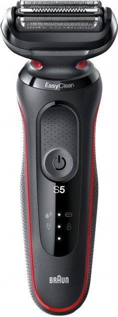 Електробритва BRAUN Series 5 50-R1000s BLACK/RED - зображення 1