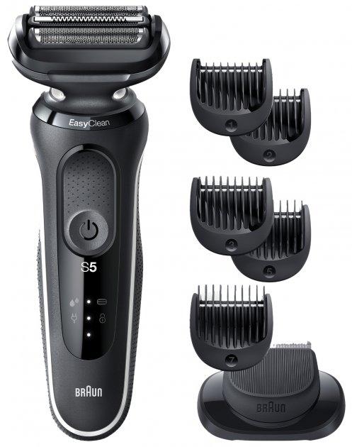 Електробритва-тример BRAUN Series 5 50-W1500s BLACK/WHITE - зображення 1