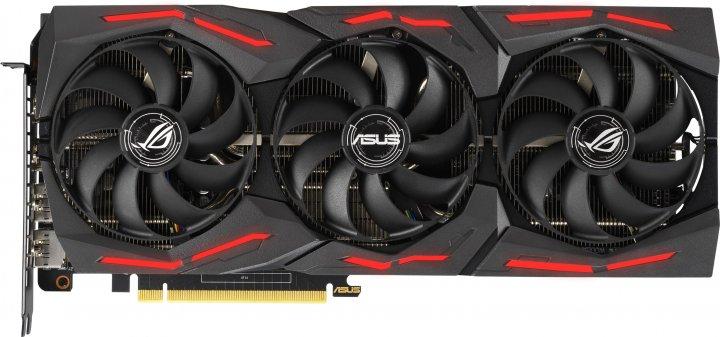 Asus PCI-Ex GeForce RTX 2060 ROG Strix Gaming EVO OC 6GB GDDR6 (192bit) (1365/14000) (2 x HDMI, 2 x DisplayPort) (ROG-STRIX-RTX2060-O6G-EVO-GAMING) - зображення 1