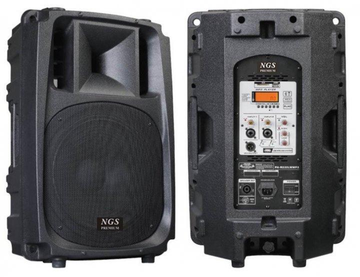 """Активная акустическая система NGS Premium PA-R232RMP3-1 12"""" 350Вт с радиомикрофонами - изображение 1"""