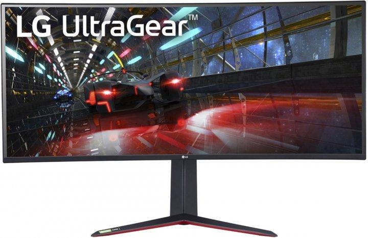 """Монітор 37.5"""" LG UltraGear 38GN950-B - зображення 1"""
