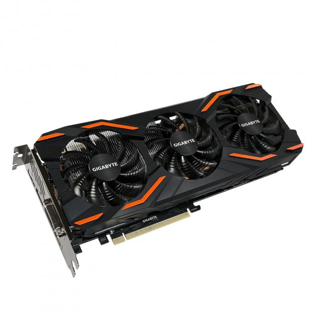 Gigabyte GeForce GTX 1080 WINDFORCE OC 8G (GV-N1080WF3OC-8GD) - зображення 1