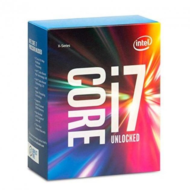 Процесор Intel Core i7 6800K 3.4 GHz (15MB, Broadwell, 140W, S2011-3) Box (BX80671I76800K) no cooler - зображення 1