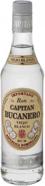 Ром Capitan Bucanero Бланко 0.7 л 38% (8414771861494) - изображение 1