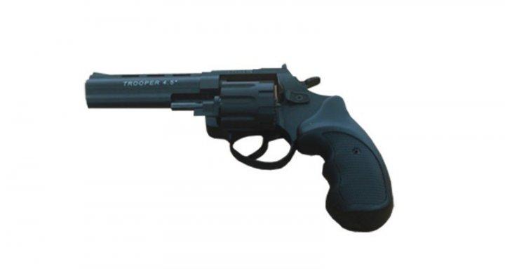 Револьвер під патрон Флобера TROOPER-4,5 S рукоятка пласт.черн. - зображення 1