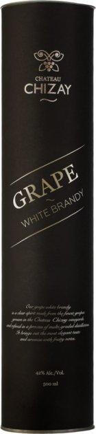Бренді Chateau Chizay Grape White Brandy 0.5 л 42% в подарунковому пакованні (4820001633788) - зображення 1