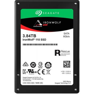 """Накопичувач SSD 2.5"""" 3.84 TB Seagate (ZA3840NM10011) - зображення 1"""