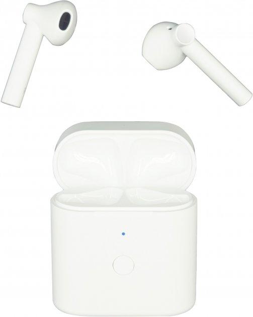 Навушники QCY T7 TWS White (6957141405871) - зображення 1
