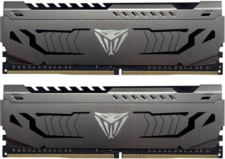 Оперативна пам'ять Patriot DDR4-3000 16384MB PC4-24000 (Kit of 2x8192) Viper Steel (PVS416G300C6K) - зображення 1