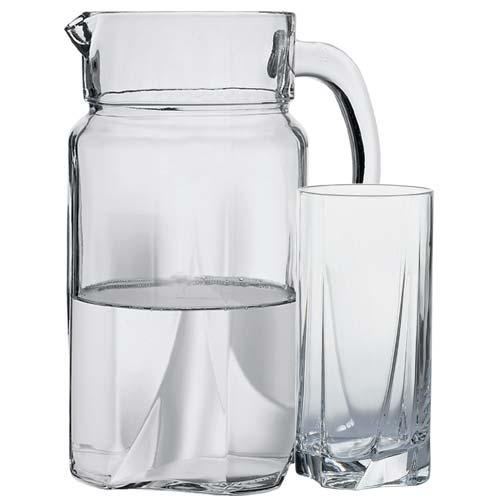 Набор кувшин со стаканами Pasabahce Луна 97440 (1700мл)- 7 пр - изображение 1