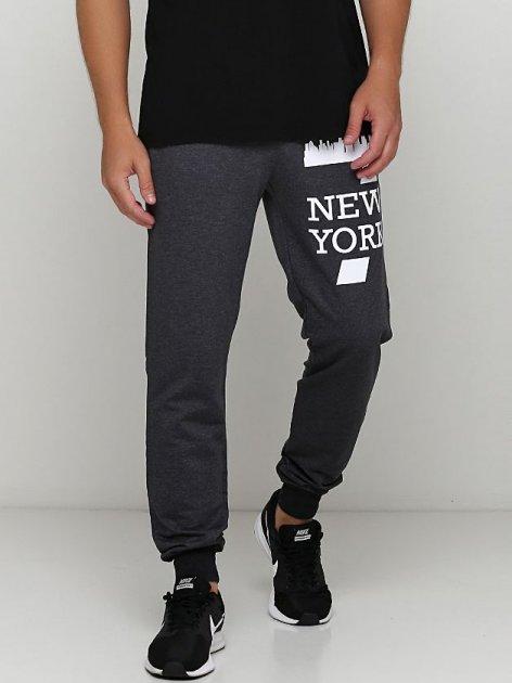 Спортивные штаны Malta М488-13-П2 New York S (46) Темно-серые (2901000262383_mlt) - изображение 1