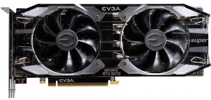 EVGA PCI-Ex GeForce RTX 2070 Super XC Ultra 8GB GDDR6 (256bit) (1800/14000) (USB Type-C, HDMI, 3 x DisplayPort) (08G-P4-3173-KR) - зображення 1