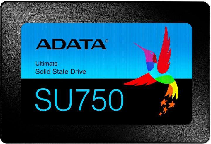 "ADATA Ultimate SU750 256GB 2.5"" SATA III 3D NAND TLC (ASU750SS-256GT-C) - изображение 1"