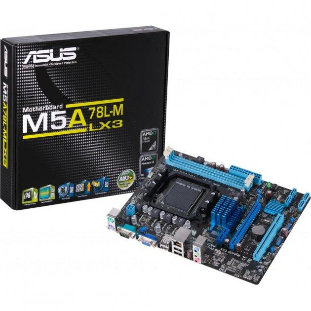 Материнская плата ASUS M5A78L-M LX3 - изображение 1