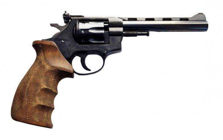 "Револьвер Weihrauch HW4 6"" з дерев'яною рукояттю - зображення 1"