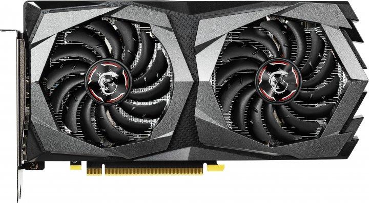 MSI PCI-Ex GeForce GTX 1650 Gaming 4GB GDDR5 (128bit) (1695/8000) (2 x DisplayPort, 1 x HDMI) (GeForce GTX 1650 GAMING 4G) - зображення 1