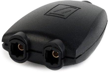 Сплиттер Cablexpert Toslink - Toslink Черный (DSP-OPT-01) - изображение 1