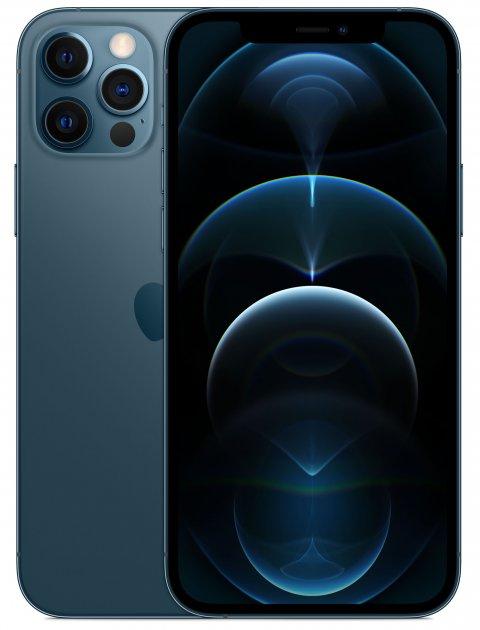 Мобільний телефон Apple iPhone 12 Pro 512GB Pacific Blue Офіційна гарантія - зображення 1